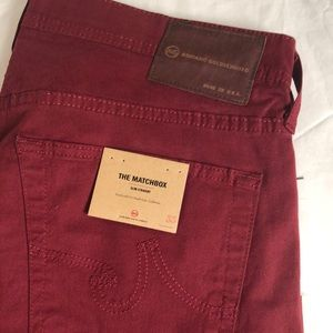 NWT Men's Ag Adriano Goldschmied Pants Size 33